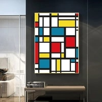 abstract canvas paintings posters and prints wall art modern picture for grid living room cuadros home decor wall art picture