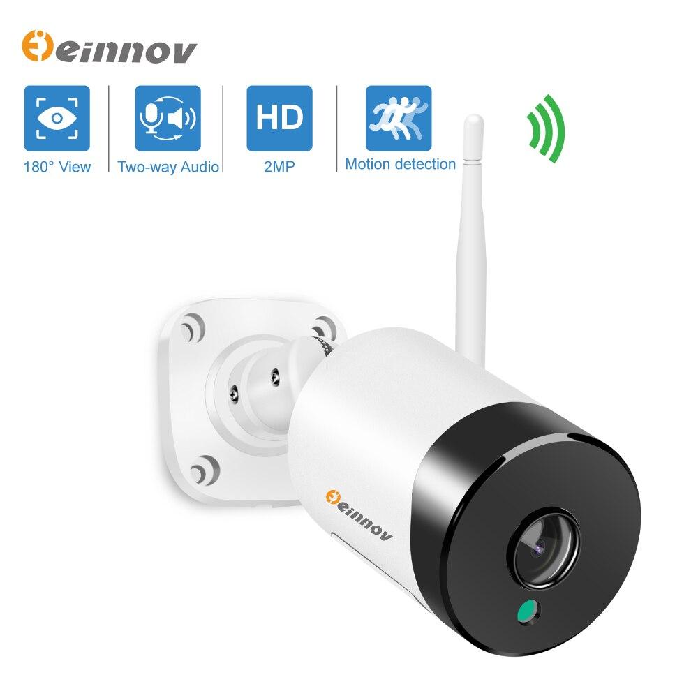 Einnov-cámara de vigilancia IP de 1080P para exteriores, videocámara de seguridad CCTV...