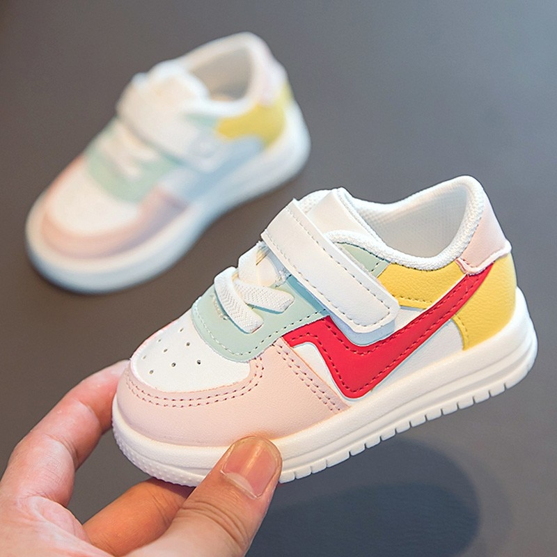 1 3t children sneakers baby girls boys single shoes toddler infantil flats little kids student casual sports shoes prewalker Baby Shoes Toddler Girls Boys Sports Shoes For Children Girls Baby Leather Flats Kids Sneakers Fashion Casual Infant Soft Shoes