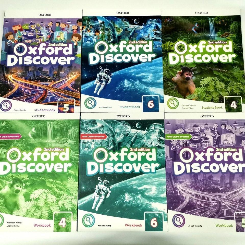 6 Volumes Oxford English Oxford English Oxford Discover Phase 4 to 6 Students' Book Oxford Explore libros livros