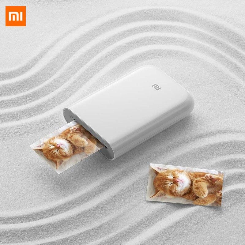 Nuevo Xiaomi AR impresora 300 ppp portátil foto Mini bolsillo con DIY Share 500mAh impresora de bolsillo con mihome