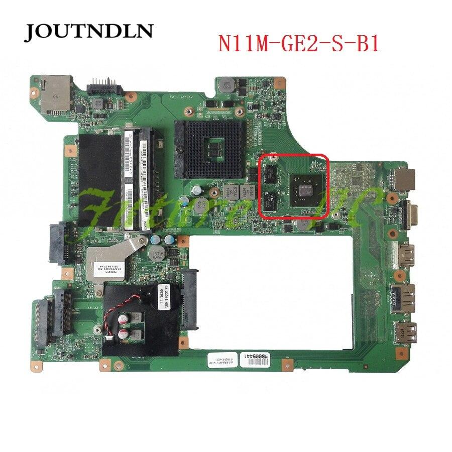 48.4JW06.011 11S11012613 11012613 N11M-GE2-S-B1 JOUTNDLN PARA Lenovo B560 Laptop Motherboard Teste trabalho