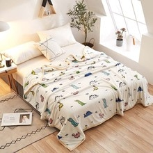 New Hot Ferret cashmere blanket Brand Adult Spring Autumn Winter Thick Warm Blanket Super Soft Coral Fleece Blanket On The Bed