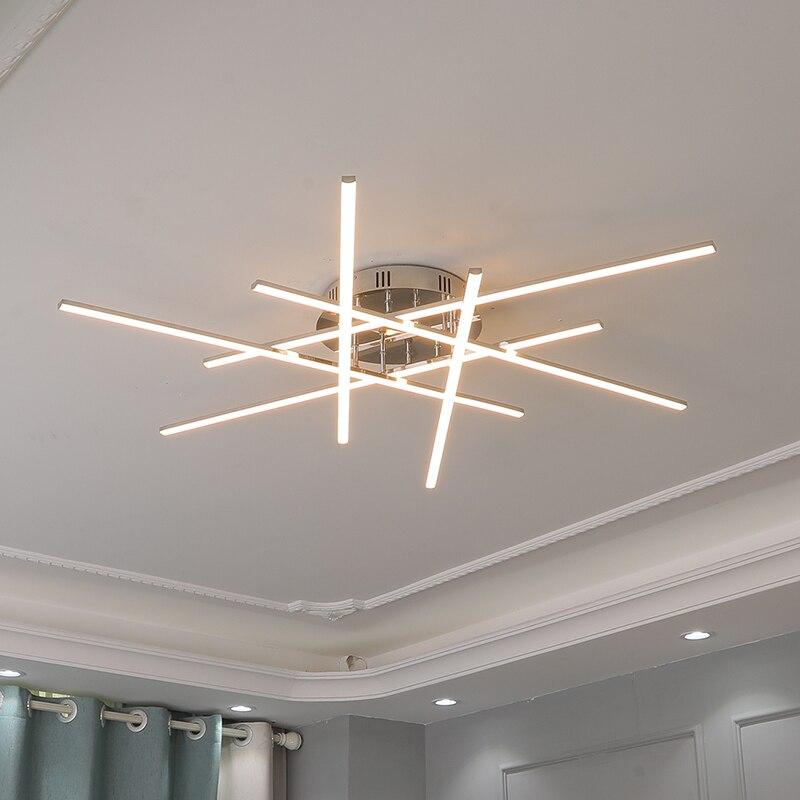 LODOOO الحديثة سقف Led أضواء السقف لغرفة المعيشة غرفة نوم الكروم تصفيح دراسة المطبخ Led مصباح السقف إضاءة داخلية