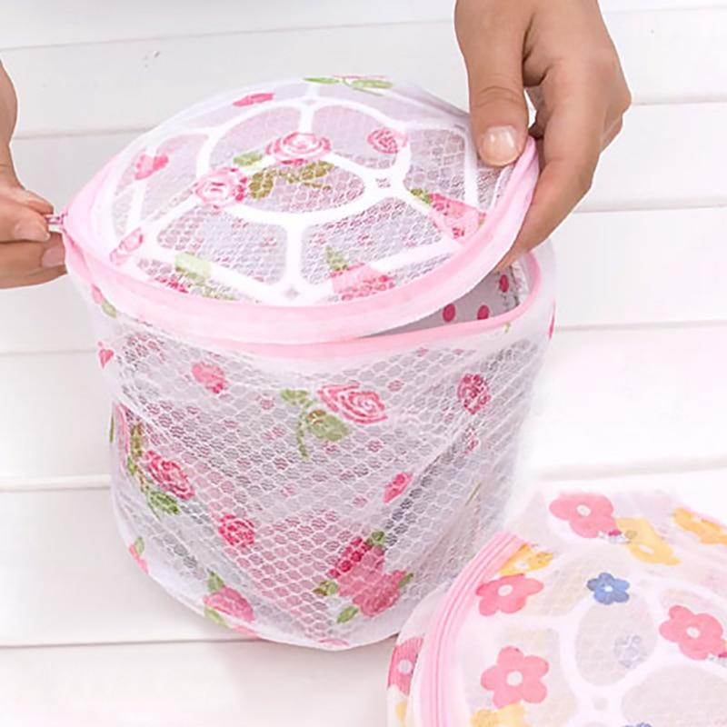 1Pcs Clothes Washing Machine laundry bags Bra Aid Hosiery Shirt Sock Lingerie Saver Mesh Net Wash Bag Pouch Basket mesh bag
