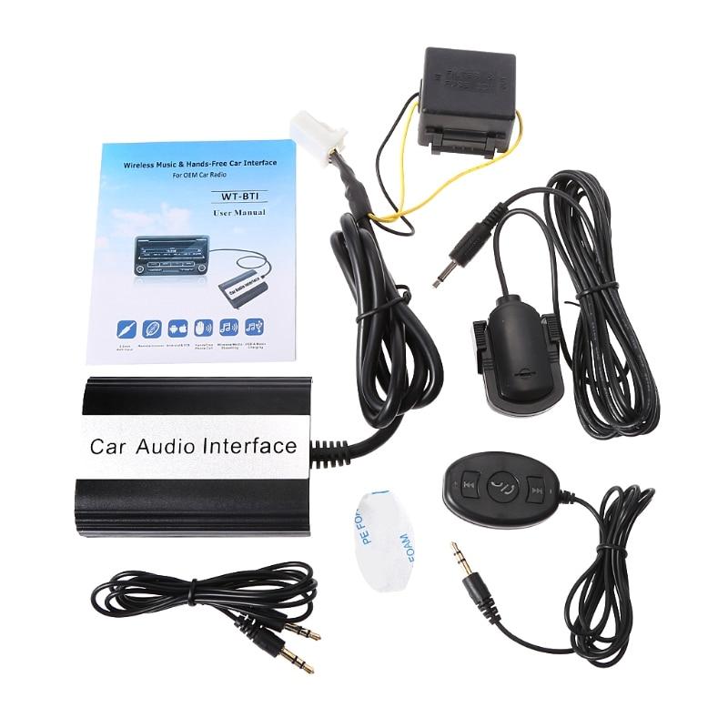 2020 neue Auto Bluetooth Kits MP3 AUX Adapter Interface Für Toyota Lexus Scion 2003-2011 12pin