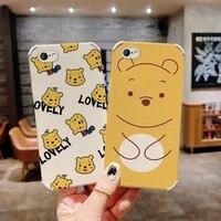 cute jane bear phone case for iphone 6 6s 6splus 6plus plus liquid silicone cover
