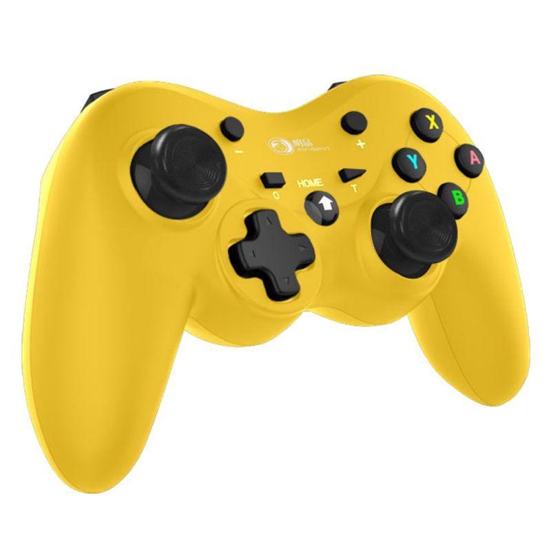 Para interruptor pro controlador sem fio com 6-axis corpo toque sen acessórios do jogo preto controlador joystick nova chegada