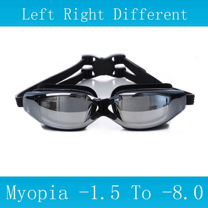 AliExpress - Swim Glasses Myopia Prescription Corrective Lens Pool Waterproof Adult Child Professional Swim Eyewear Optical Swimming Goggles