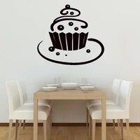 Autocollants muraux en vinyle pour decoration de gateaux  decoration de maison  cuisine  cafe  papier peint pour chambre denfant