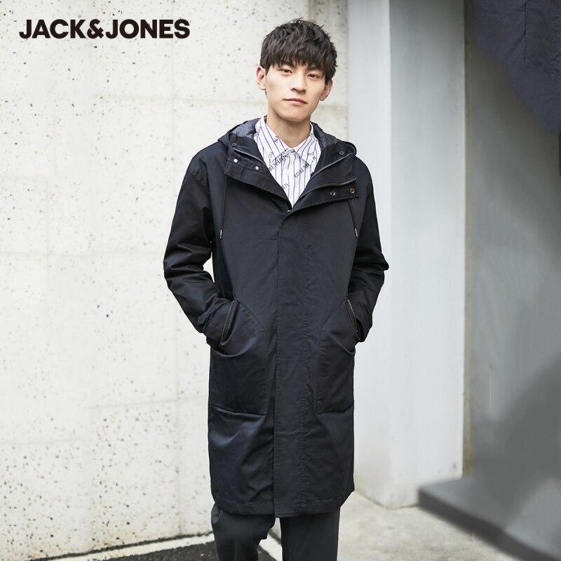 JackJones معطف مبطّن بقلنسوة طويل مواكب للموضة للرجال من JackJones | 219309506