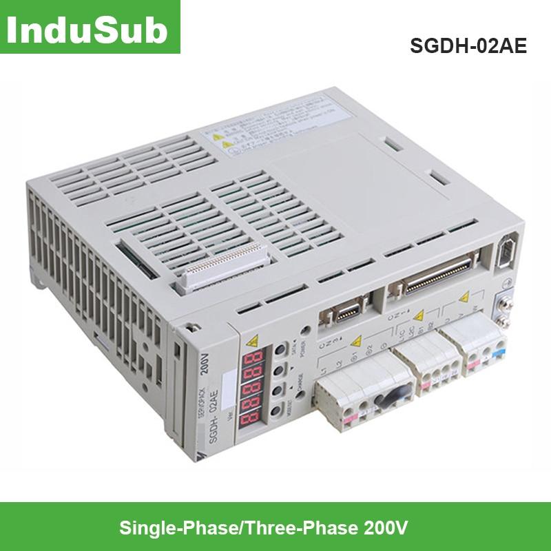SGDH-02AE eléctrico Servopack SGDH-02AE 3-fase servoaccionamiento 200w