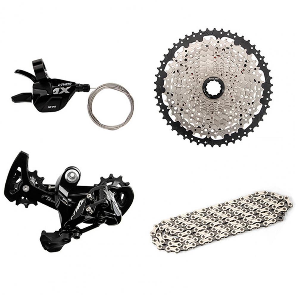 Palanca de cambios de bicicleta de aleación de aluminio de Cadena de volante de transmisión de bicicleta de 12 velocidades ultegra