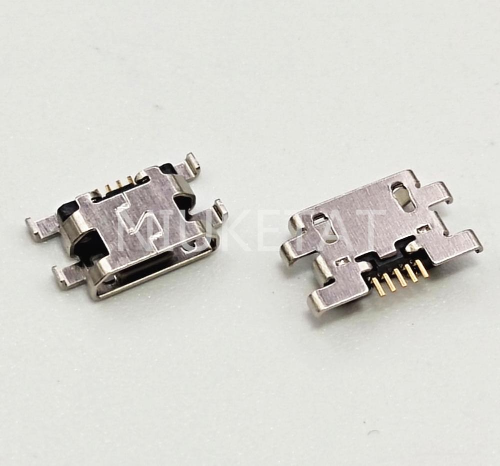 10 шт. микро USB 5Pin разъем обратное гнездо данных зарядный порт Хвостовая вилка для Gionee GN5005 youmi 4S мобильный телефон Mini