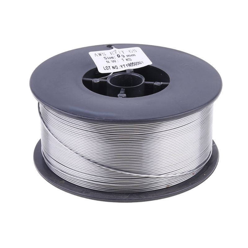 Gasless Mig Welding Wire E71T-GS 1kg 0.9mm Flux Core Welder Steel Cored without gas