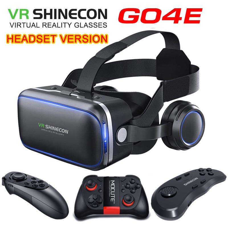 Shinecon-نظارات الواقع الافتراضي ، الإصدار الأصلي 6.0 ، الإصدار القياسي ، سماعات الرأس ثلاثية الأبعاد ، الهاتف الذكي