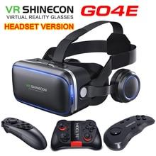 Original VR shinecon 6,0 version virtuelle realität und Standard edition andglasses 3D gläser headset helme smartphone