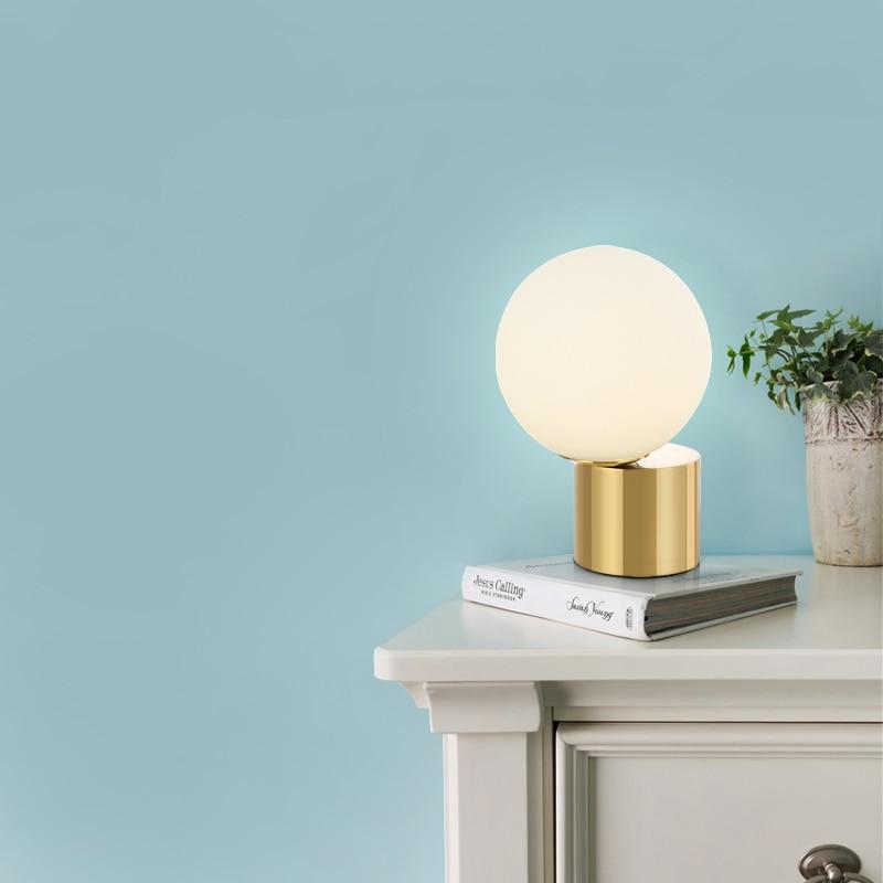 Moderne Post-moderne Simple design verre souple lampe de salon salon Studio salle de bal lampe de Table décorative