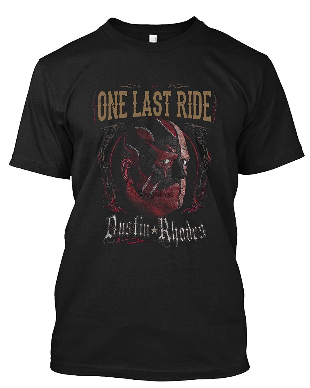 Dustin rhodes um último passeio t camisa presente camiseta para homem