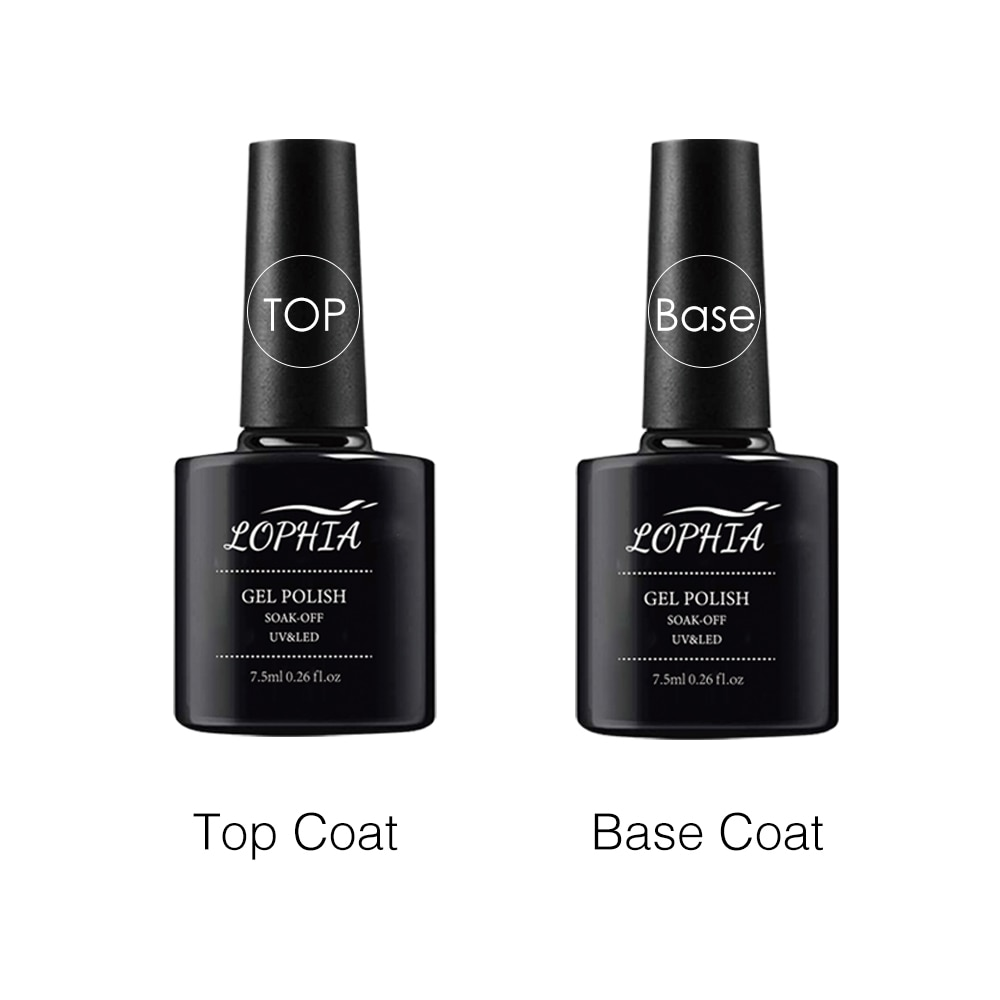 LOPHIA Base For Nails Gel Polish Hybrid 7.5ml Matte Top Semi Permanent UV Varnish For Manicure Soak Off Lacquer