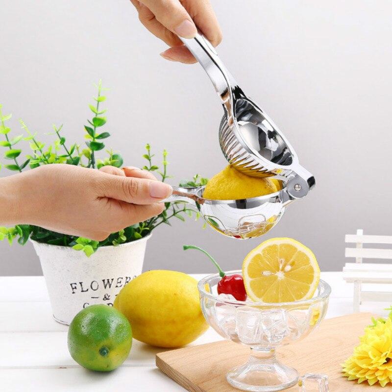 1 exprimidor Manual de acero inoxidable exprimidor de mano exprimidor de fruta exprimidor de limón herramienta de prensa de vegetales exprimidores manuales