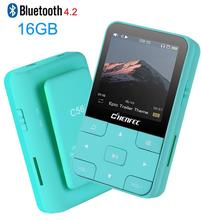 Mini Clip Sport Bluetooth4.2 MP3 Player 2019 Neue Version MP3 Musik-Player mit FM, Recorder, unterstützung TF/SD Karte + Freies Armband