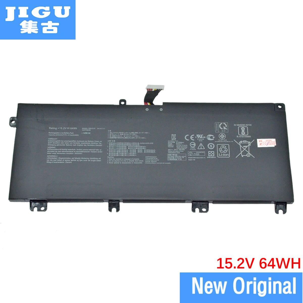 JIGU الأصلي بطارية كمبيوتر محمول B41N1711 ل ASUS ZX63 ZX63VD ZX73VM GL703 FX705D FX705 GL503GE GL703VM GL703VD GL703GE GL503VM