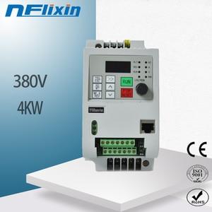 4KW 380V AC Variable Frequency Drive VFD Inverter for  spindle 4000W vfd 4KW Inverter