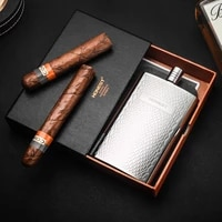 hip flask 5 5 oz stainless steel top grade hip flasks outdoor whiskey alcohol pu leather pocket flask alcool gift set ab50jh