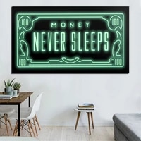 funny street graffiti wall art canvas poster and print canvas painting oil decorative picture for office living room home decor