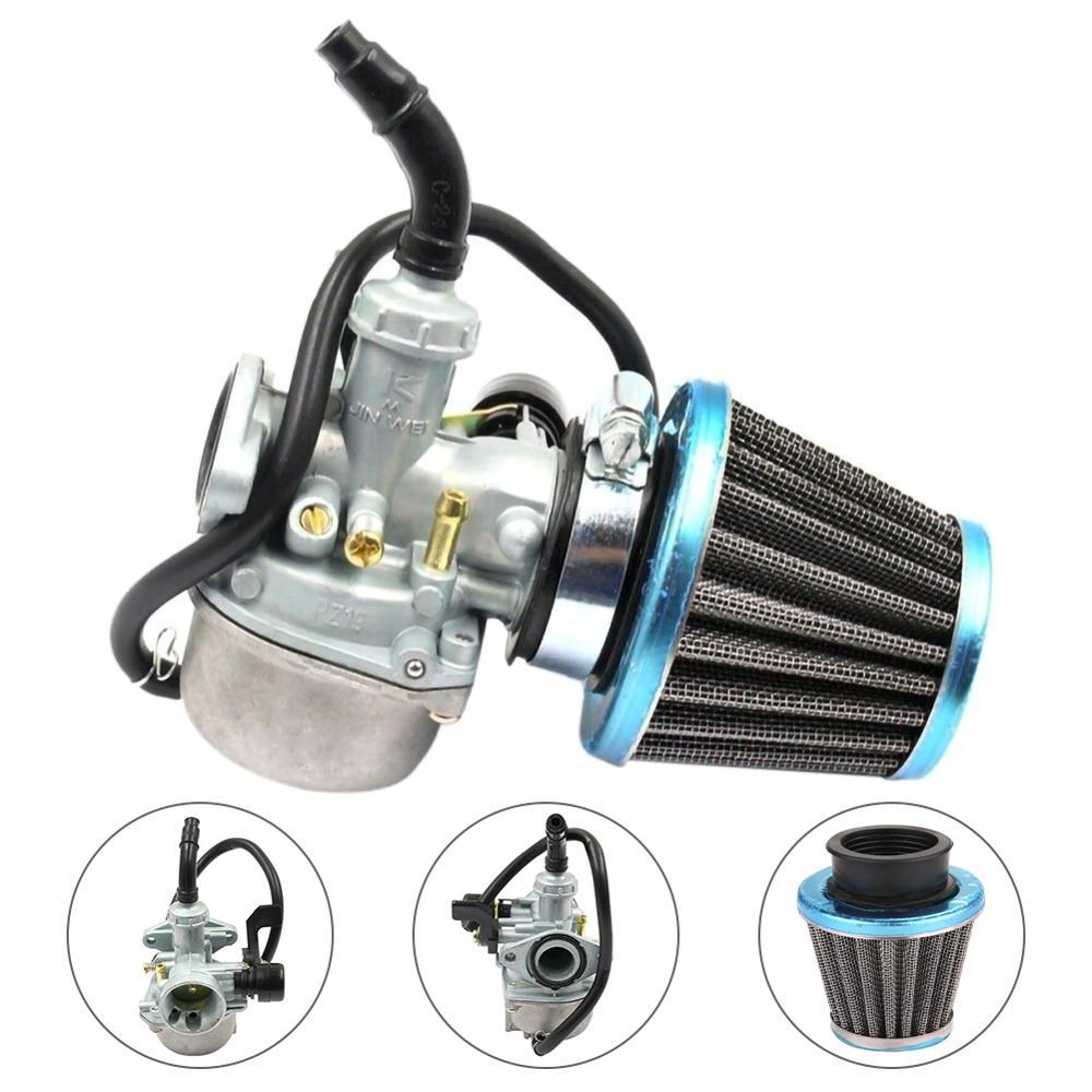 Carburador PZ19 carburador para 50 70 90 110 125cc ATV Quad 4 Wheels Dirt Bike moto carburadores de motocicleta con filtro de aire