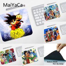 MaiYaCa High Quality Goku Dragon Ball small Mouse pad PC Computer mat Smooth Writing Pad Desktops Mate gaming mouse pad