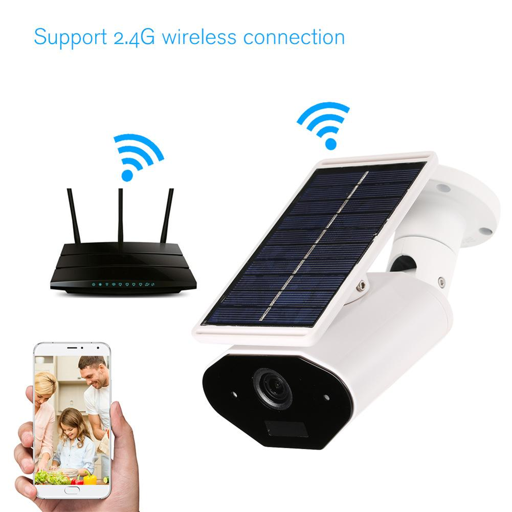 2.4G WIFI 1080P wireless waterproof outdoor solar IP camera Low power consumption PIR motion detection forsurveillance camera enlarge