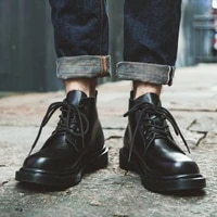 2021 new mens boots autumn winter fashion rivet british mid calf motorcycle punk boots men pointy knight martin boots