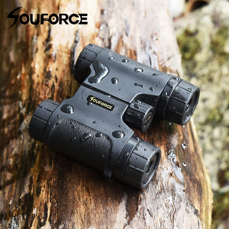 Mini 8X28 Binoculars Waterproof Telescope Wide Field Angle for Outdoor Watching Hunting Camping