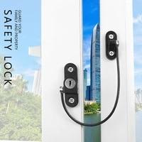 anti theft door chain safety baby window lock home door latch lock children protection lock window limiter security lock