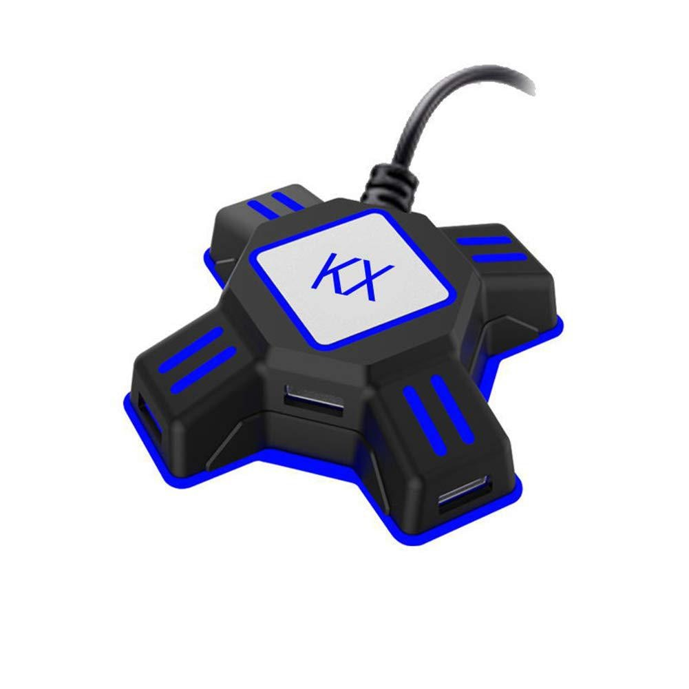 KX USB Game Controller Adapter Converter Video Game Keyboard Mouse Adapter for Nintendo Switch/Xbox/