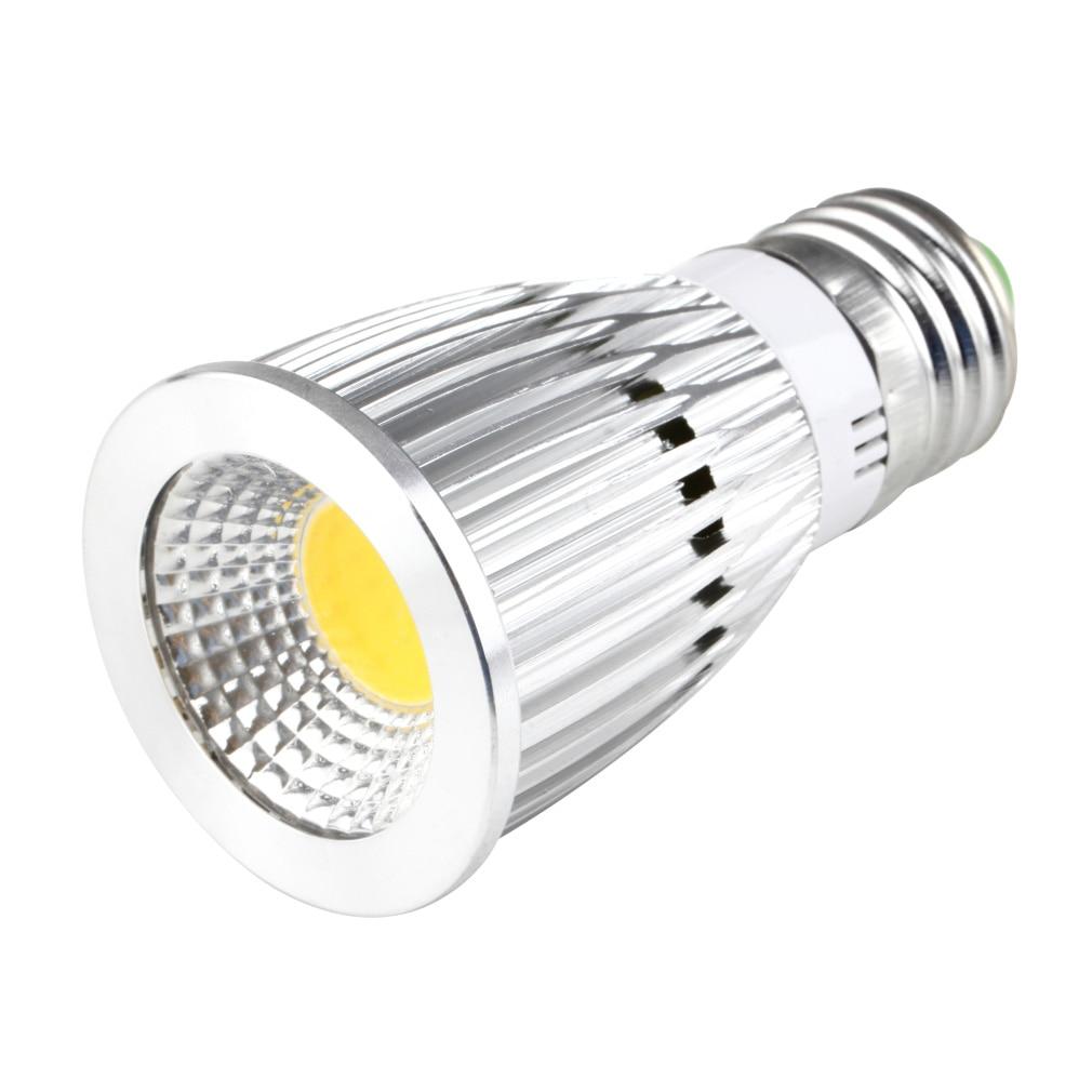 Bombilla de foco LED E27 de 12 W, AC85-265V de 60 grados, blanco cálido, superoferta. Limpieza de inventario