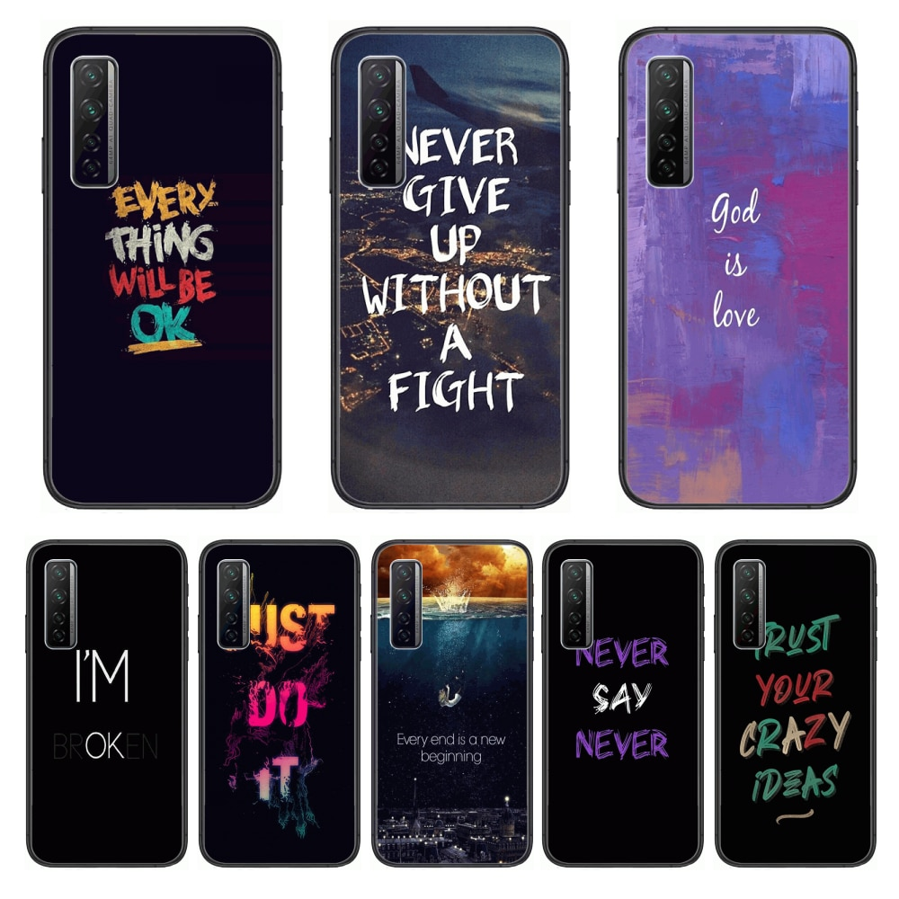 Frosting Fighting Style  Phone Case For Huawei Nova p10 lite 7 6 5 4 3 Pro i p Smart ZBlack Etui 3D Coque Painting Hoesje