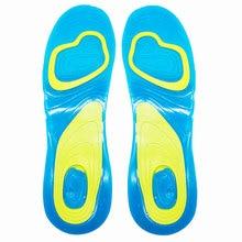 Soletta in Gel di Silicone cura dei piedi ortopedica per i piedi scarpe suola solette sportive cuscinetti per assorbimento degli urti soletta plantare plantare