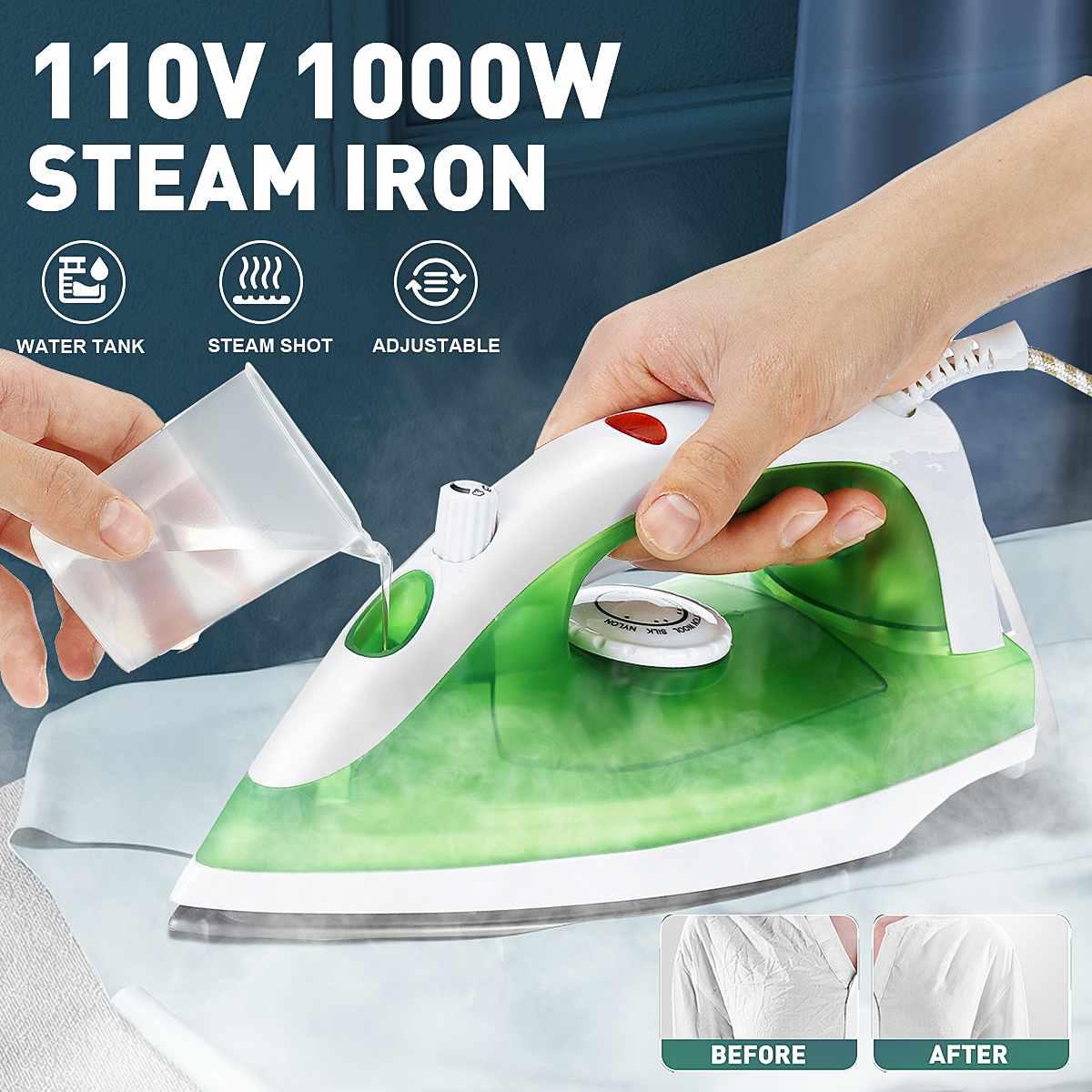 Мини Электрический паровой утюг отпариватель для одежды портативная одежда утюжок 3 уровня Регулируемый быстрый нагрев одежда утюжок для д...