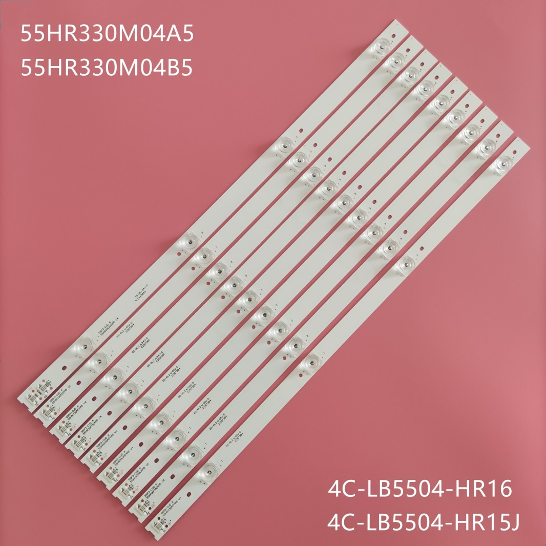 9pcs/lot New original TCL   55BC7600 55U6780C L55P3CUS LVU550ND1 55A950C 55N3 55V1 55A880C light str