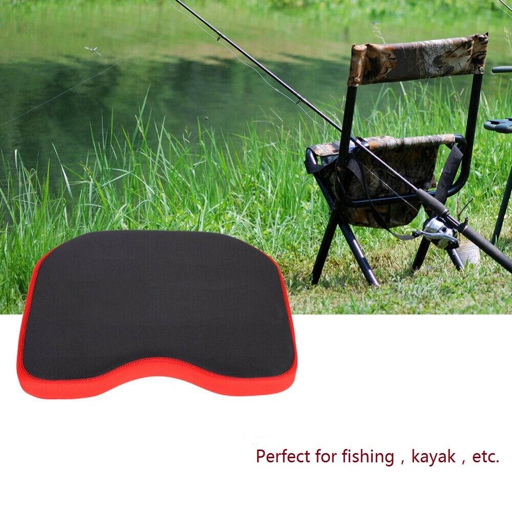 Silla de pesca suave espesada al aire libre asiento cojín Canoa Kayak pesca bote asiento almohadilla pesca aparejos