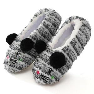 Winter Warm Women Home Slippers Cute Cartoon Lightweight Soft Sole Comfort Slippers Women's Cotton Shoes Indoor Plush Slippers