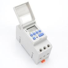 1pc Digital Programmable 7 DaysTimer Switch AC 220V 110V 230V DC 12V 16A Temporizador  Rail Timer SwitchProgrammable Digital