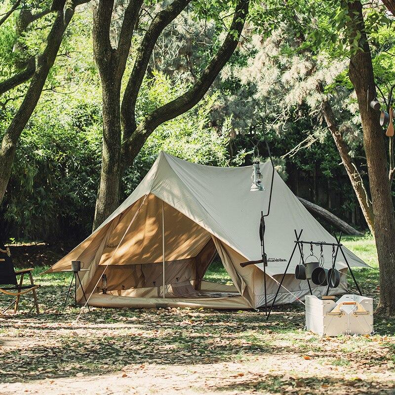 خيمة تيبي على شكل هرم ، خيمة خماسية ، سقف علوي ، تخييم ، تخييم ، تخييم ، هندي ، قماش قطني ، حقيبة ظهر للتنزه