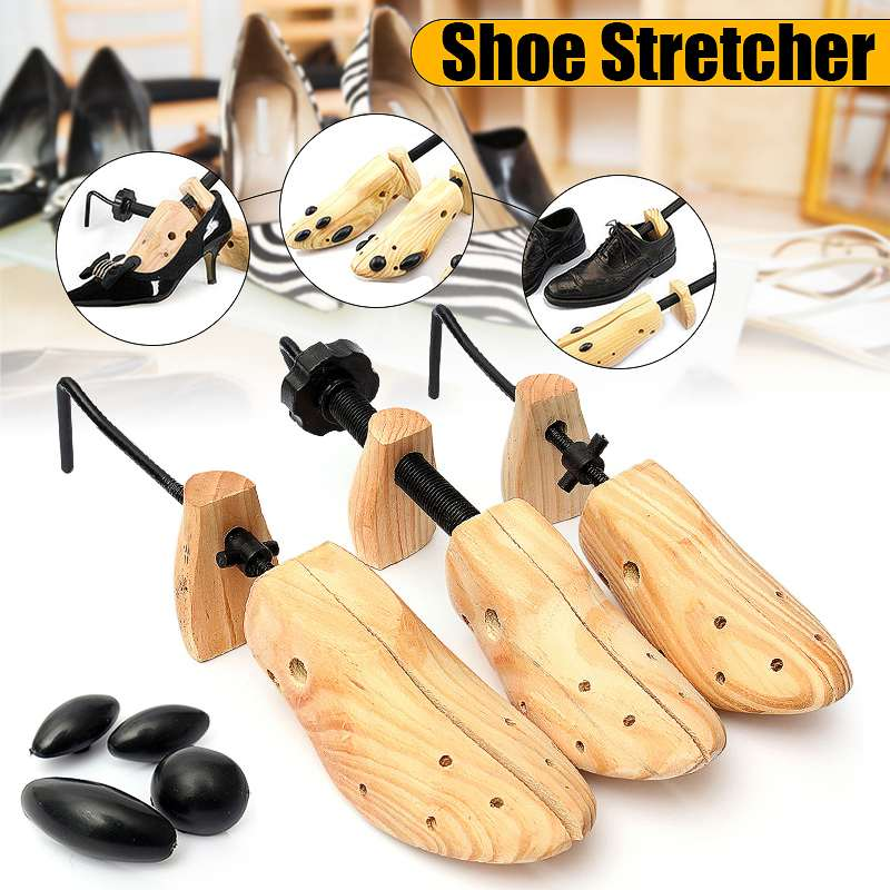 BSAID 3Piece S/M/L Size Shoe Tree Wood Shoes Stretcher, Wooden Adjustable Man Women Flats Pumps Boot