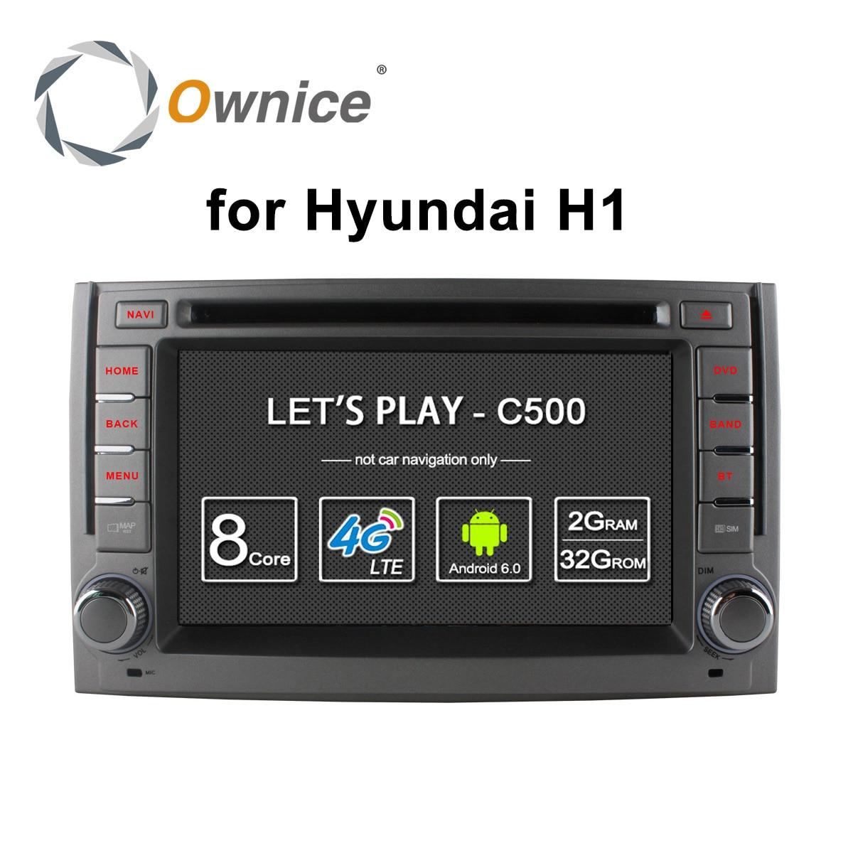 4G SIM LTE Octa Core Android 6.0 Car DVD player GPS Navi for Hyundai H1 Grand Starex 2007 - 2015 2GB RAM  16GB ROM support DAB+