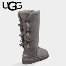 Fashion Classic Original Bailey Bow UGG Boots 7308 Women Winter High Boots Uggs Women Genuine Leathe