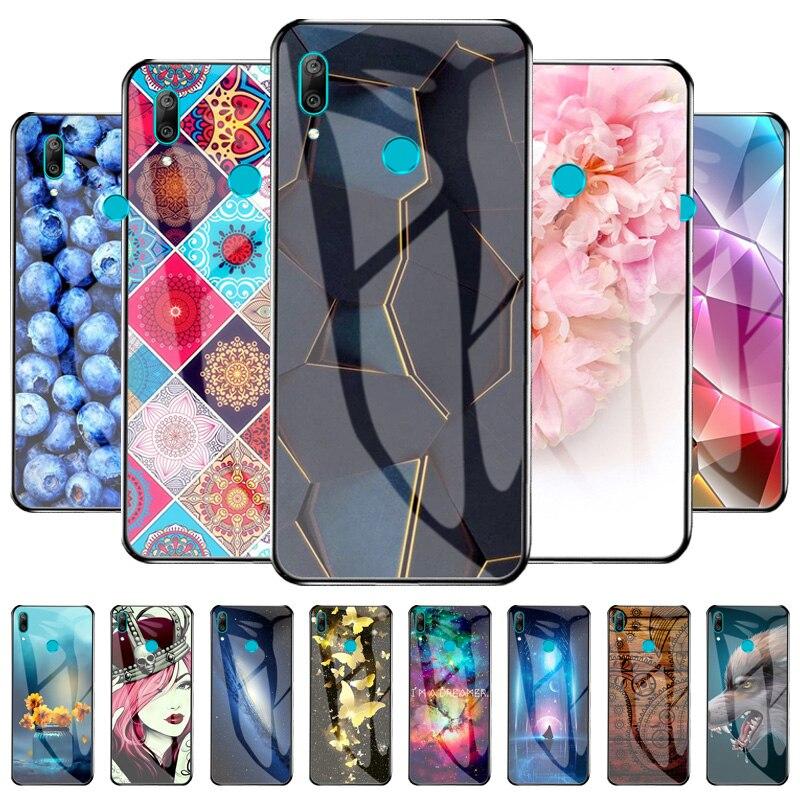 Funda protectora de vidrio para Huawei Y9 Prime 2019, carcasas de TPU...